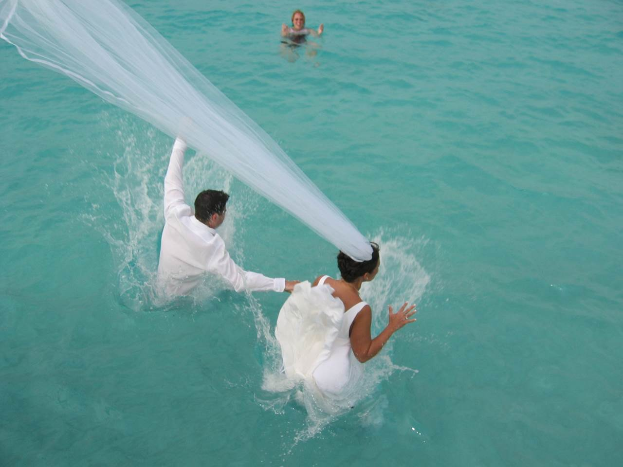weddings in Saint Thomas on a catamaran in the Virgin Islands, Caribbean