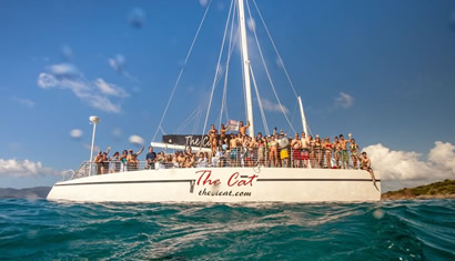 Book A Catamaran Tour in St. Thomas USVI Virgin Islands
